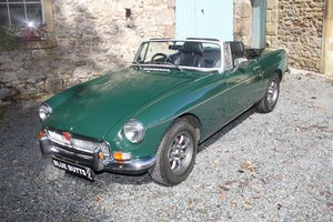 MGB Roadster Man O/D 1972 For Sale