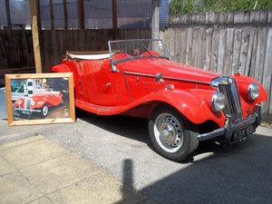 1954 MG TF Fully Restored For Sale