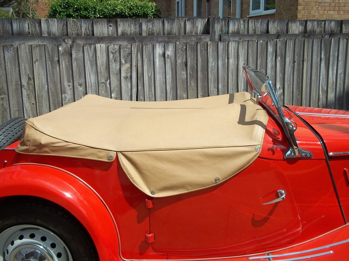 1954 MG TF Fully Restored For Sale (picture 5 of 6)