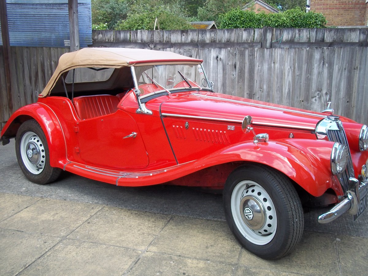 1954 MG TF Fully Restored For Sale (picture 6 of 6)