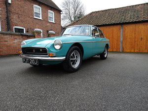 1971 Rare MGB GT (automatic) For Sale