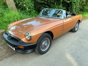 1981 MGB LE, Rare limited edition model, MOT August '19 For Sale