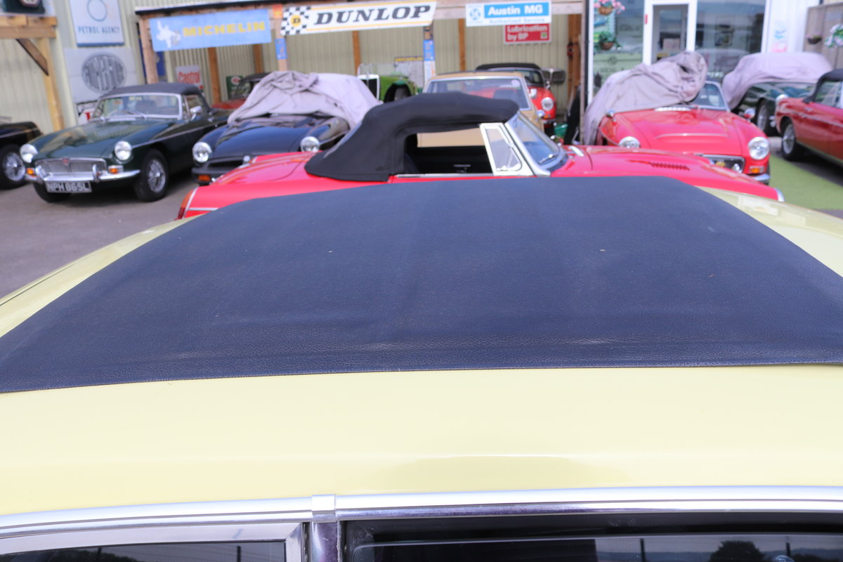 1973 MGB GT in Primrose with full sunroof SOLD (picture 3 of 6)
