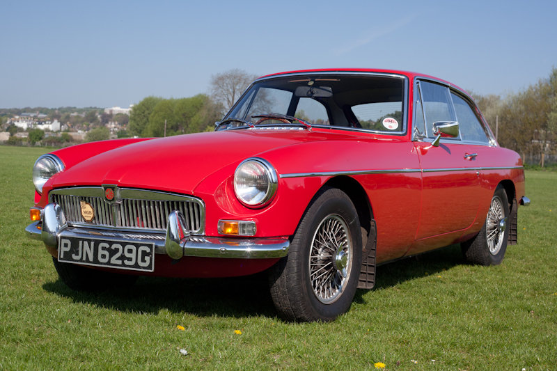 1968 MGB GT  SOLD (picture 1 of 6)