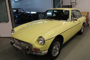 1970 MGB GT in Primrose, Show standard rebuild For Sale