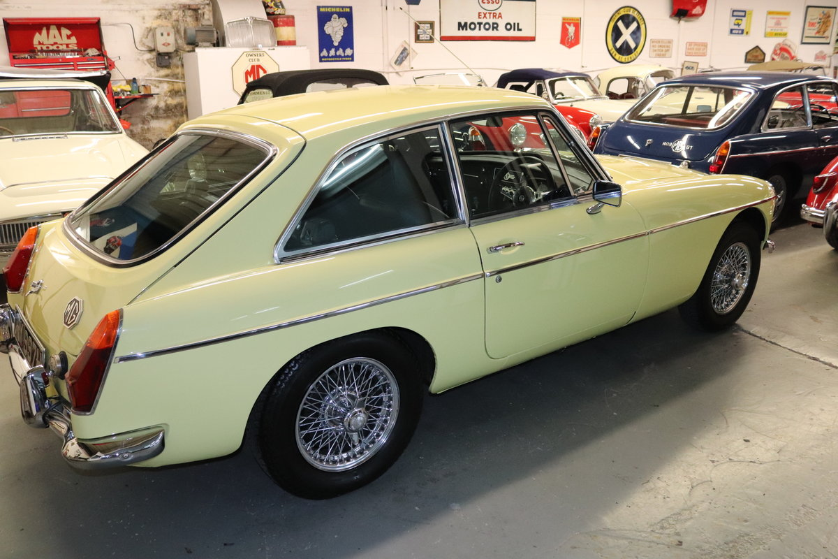 1970 MGB GT in Primrose, Show standard rebuild SOLD (picture 4 of 6)