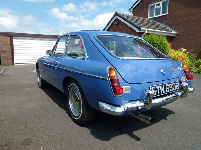1968 MG BGT For Sale For Sale (picture 5 of 6)