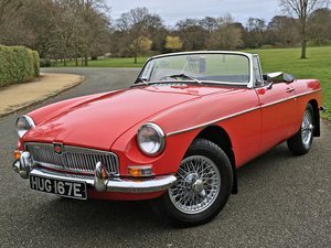 1967 MGB Roadster - 325 MILES SINCE FULL RESTORATION For Sale