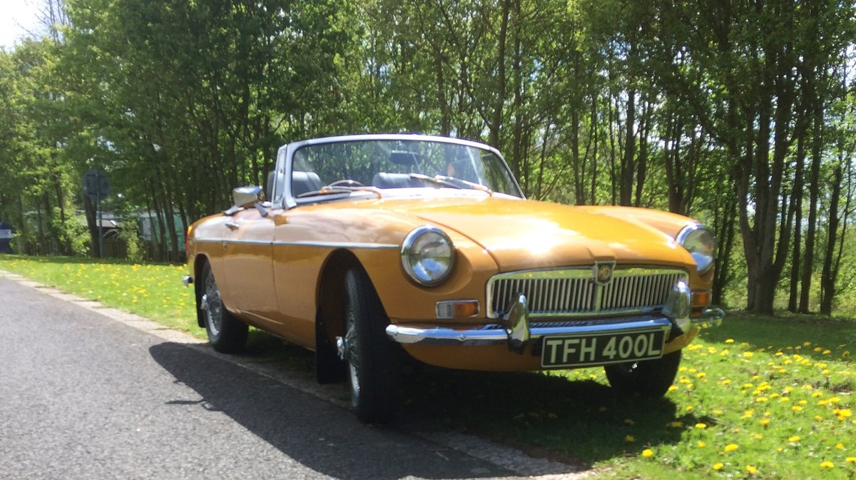 1973 MGB Roadster - Award Winning SOLD (picture 1 of 6)