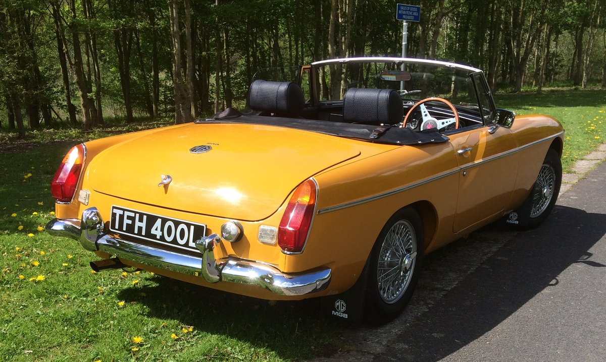 1973 MGB Roadster - Award Winning SOLD (picture 3 of 6)