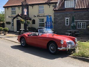 MGA ROADSTER-1959-Excellent condition SOLD