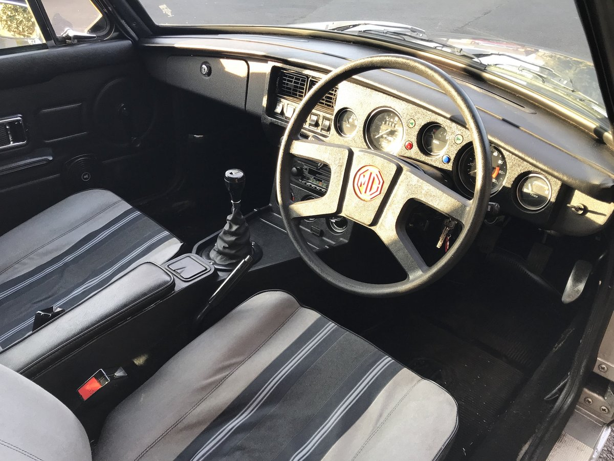 RARE 1981 MGB GT LE 1 of 580. 47k Miles For Sale (picture 5 of 6)