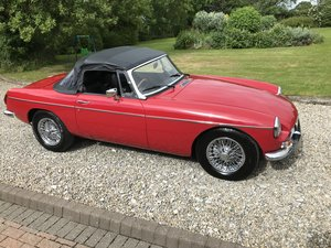 1977 MG B Roadster, Wire Wheels, Overdrive, RESTORED For Sale