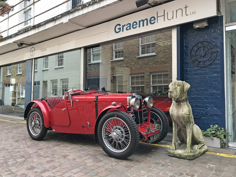 1933 MG J2 with period competition history For Sale (picture 1 of 6)