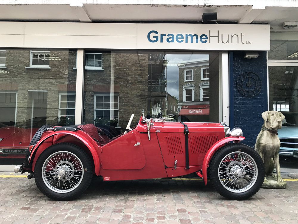 1933 MG J2 with period competition history For Sale (picture 3 of 6)