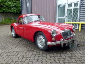 1962 MG A 1600 MKII Coupe De Luxe For Sale by Auction