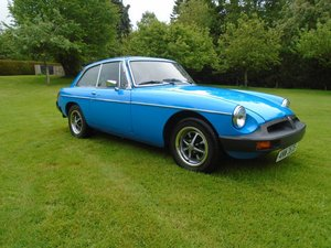 1978 MGB GT with Overdrive  SOLD