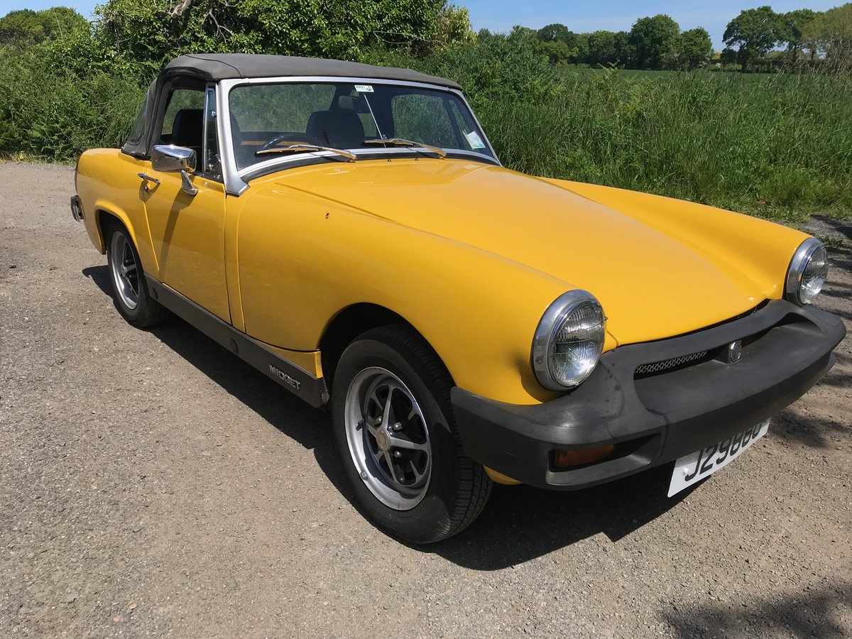 1978 MG 1500 Midget. Well maintained & low mileage. SOLD (picture 1 of 6)
