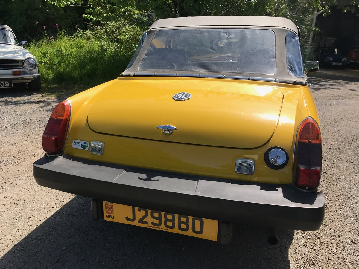 1978 MG 1500 Midget. Well maintained & low mileage. SOLD (picture 3 of 6)