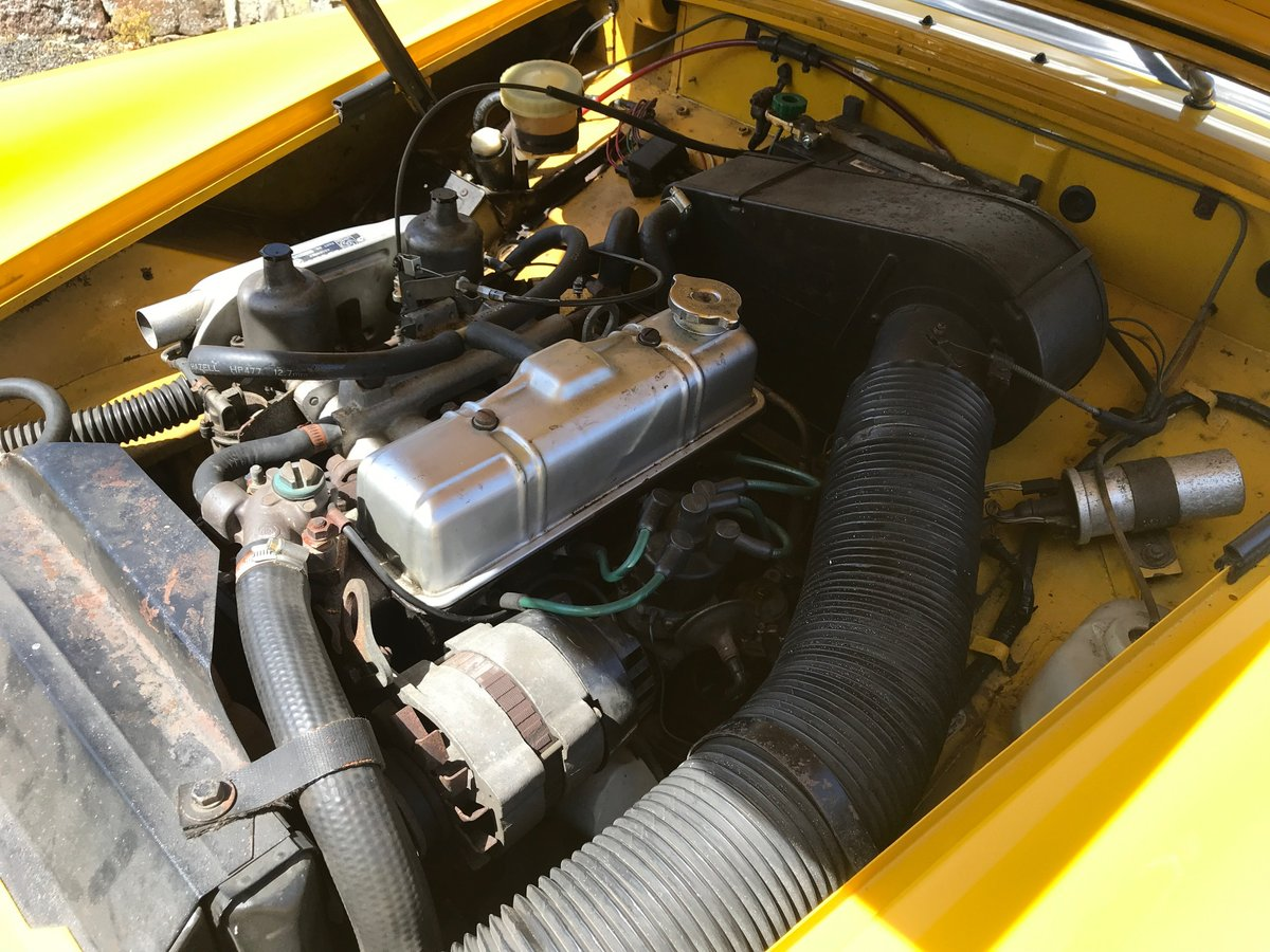 1978 MG 1500 Midget Jersey car from new , low mileage For Sale (picture 6 of 6)