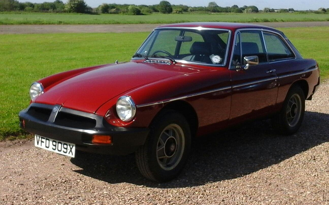 1981 Professionally Recommissioned Low Mileage MGB GT SOLD (picture 1 of 6)