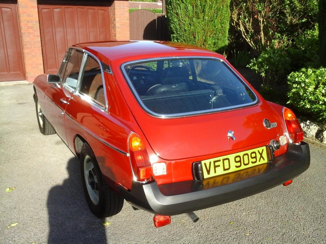 1981 Professionally Recommissioned Low Mileage MGB GT SOLD (picture 4 of 6)