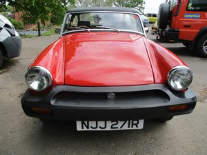 1977 MG MIDGET - GREAT CONDITION For Sale