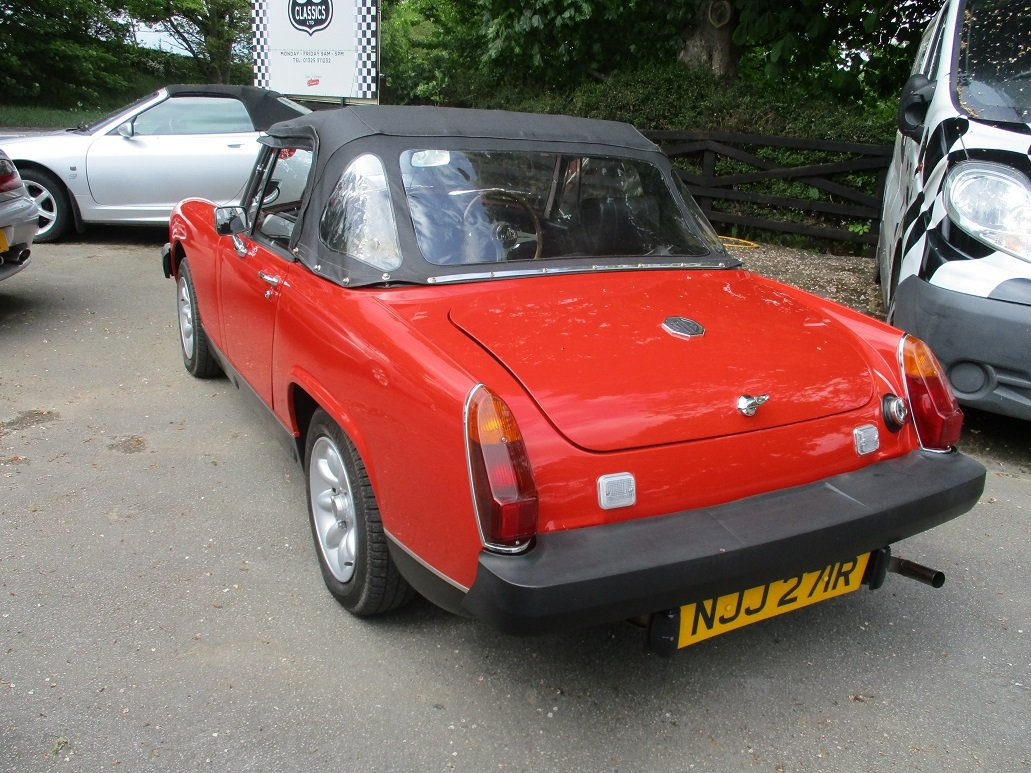 1977 MG MIDGET - GREAT CONDITION For Sale (picture 2 of 4)
