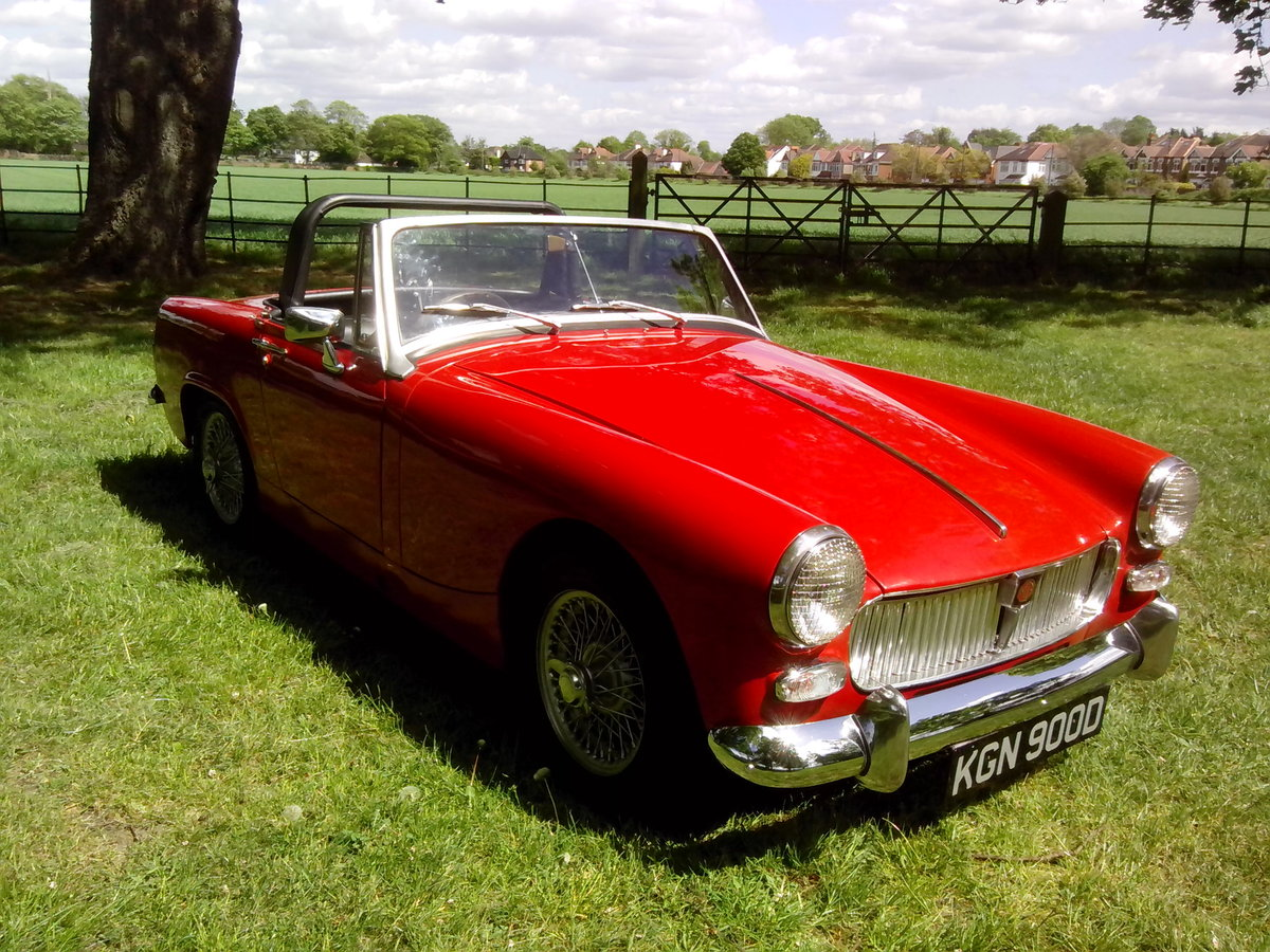 1966 MG Midget 1275cc For Sale (picture 1 of 6)