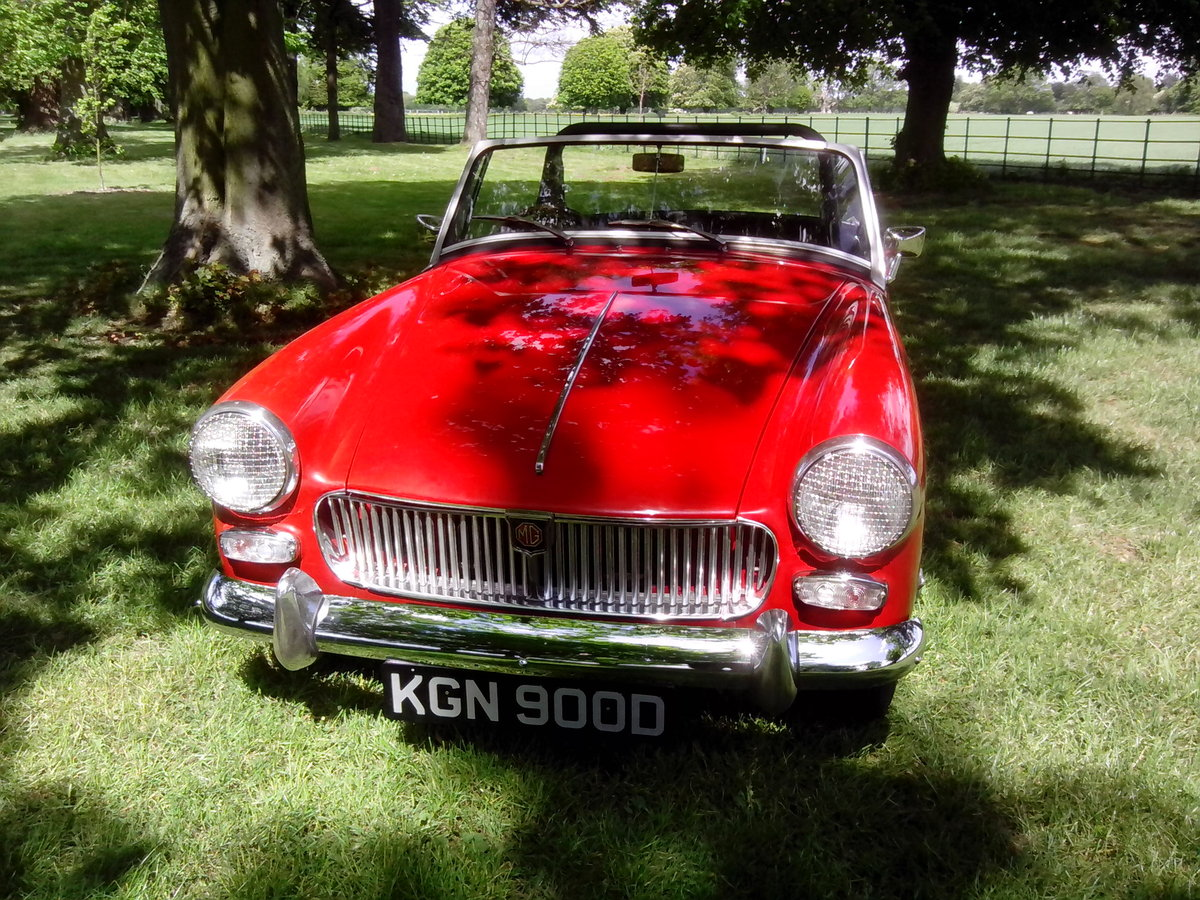 1966 MG Midget 1275cc For Sale (picture 2 of 6)