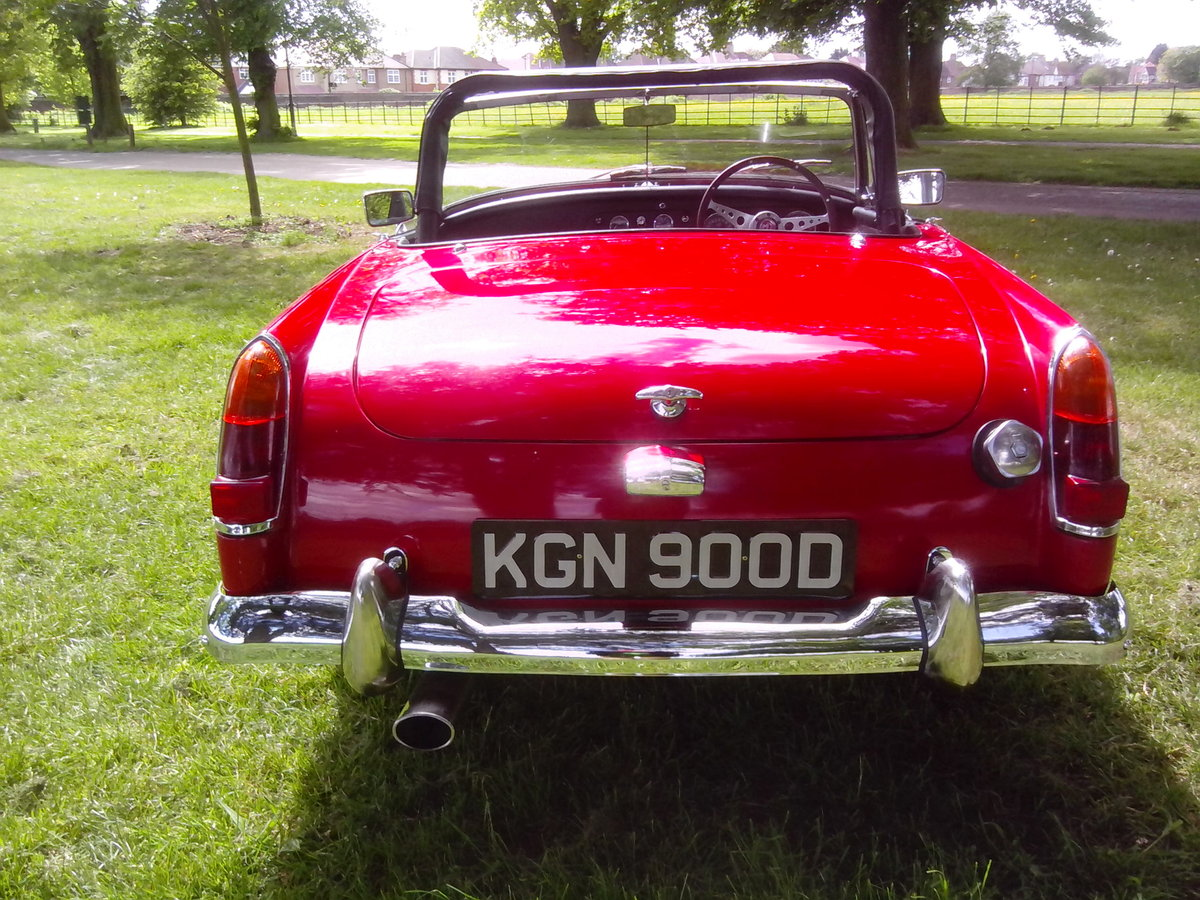 1966 MG Midget 1275cc For Sale (picture 4 of 6)