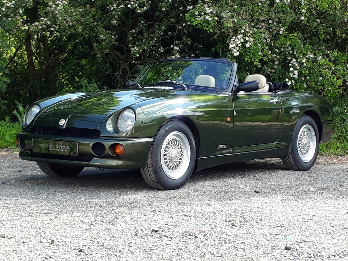 1995 STUNNING LOW MILEAGE MG RV8 SOLD (picture 1 of 6)