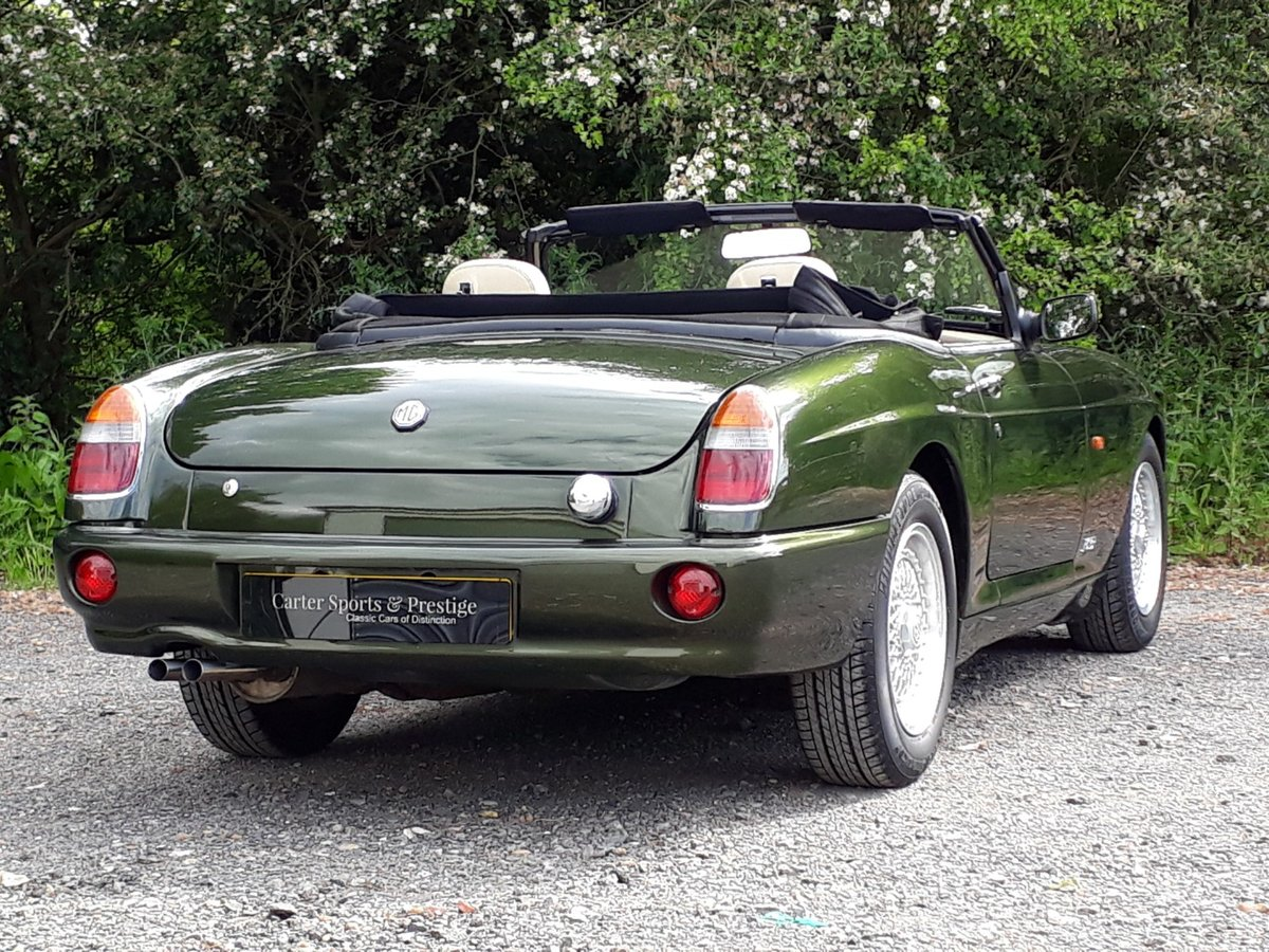 1995 STUNNING LOW MILEAGE MG RV8 SOLD (picture 3 of 6)