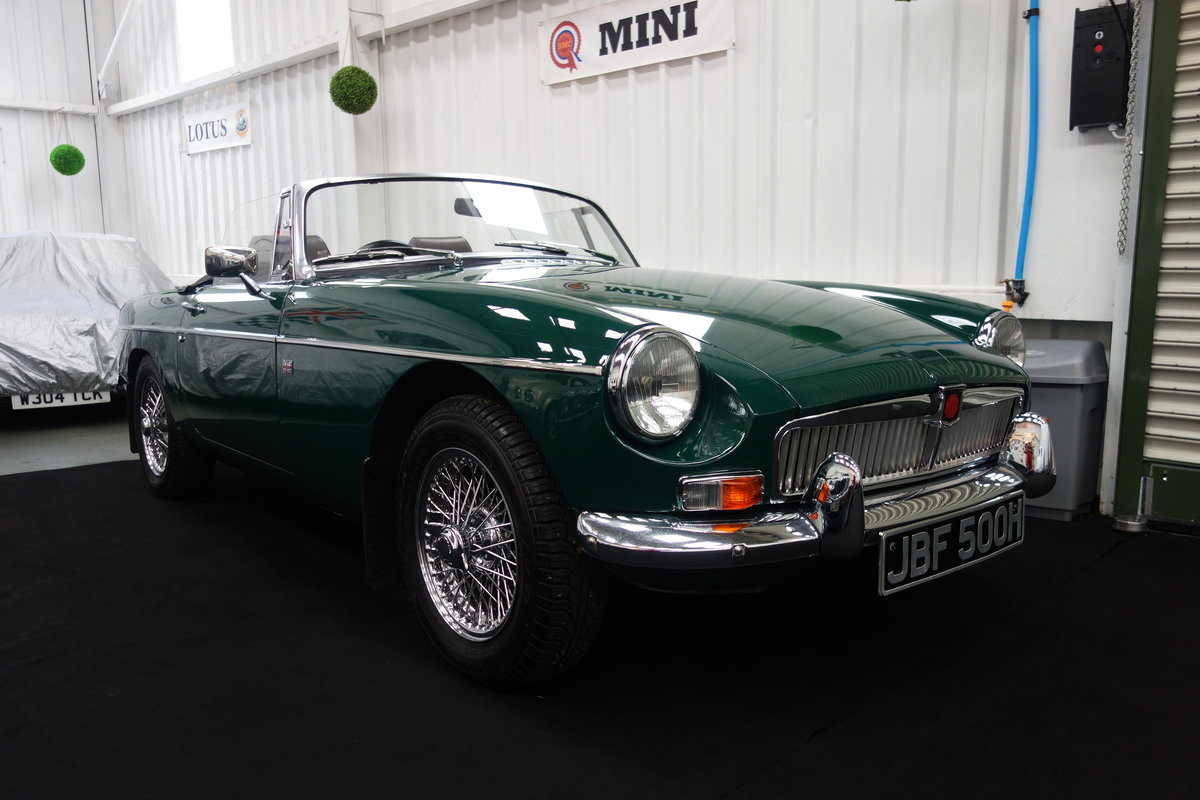 1970 MGB Roadster in beautiful condition SOLD (picture 1 of 6)