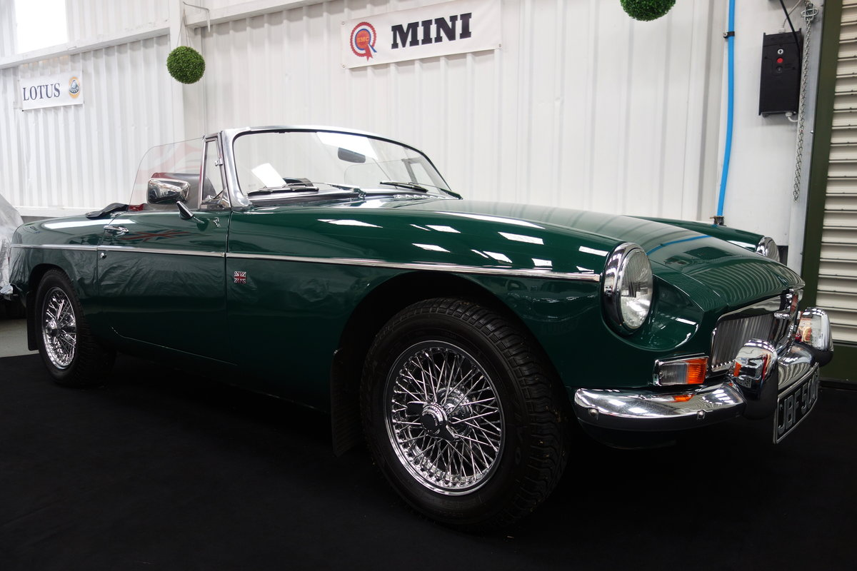 1970 MGB Roadster in beautiful condition SOLD (picture 2 of 6)