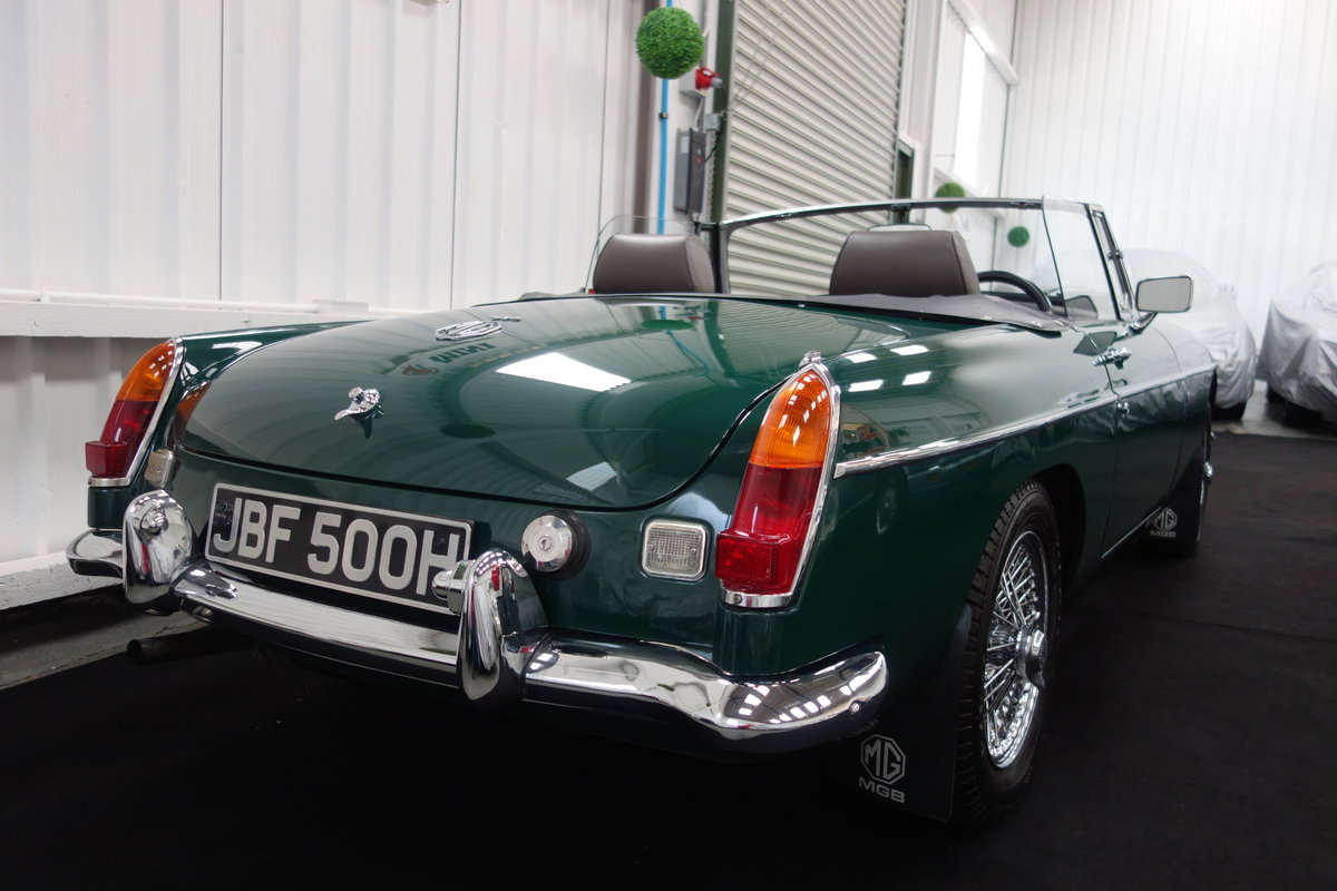1970 MGB Roadster in beautiful condition SOLD (picture 3 of 6)