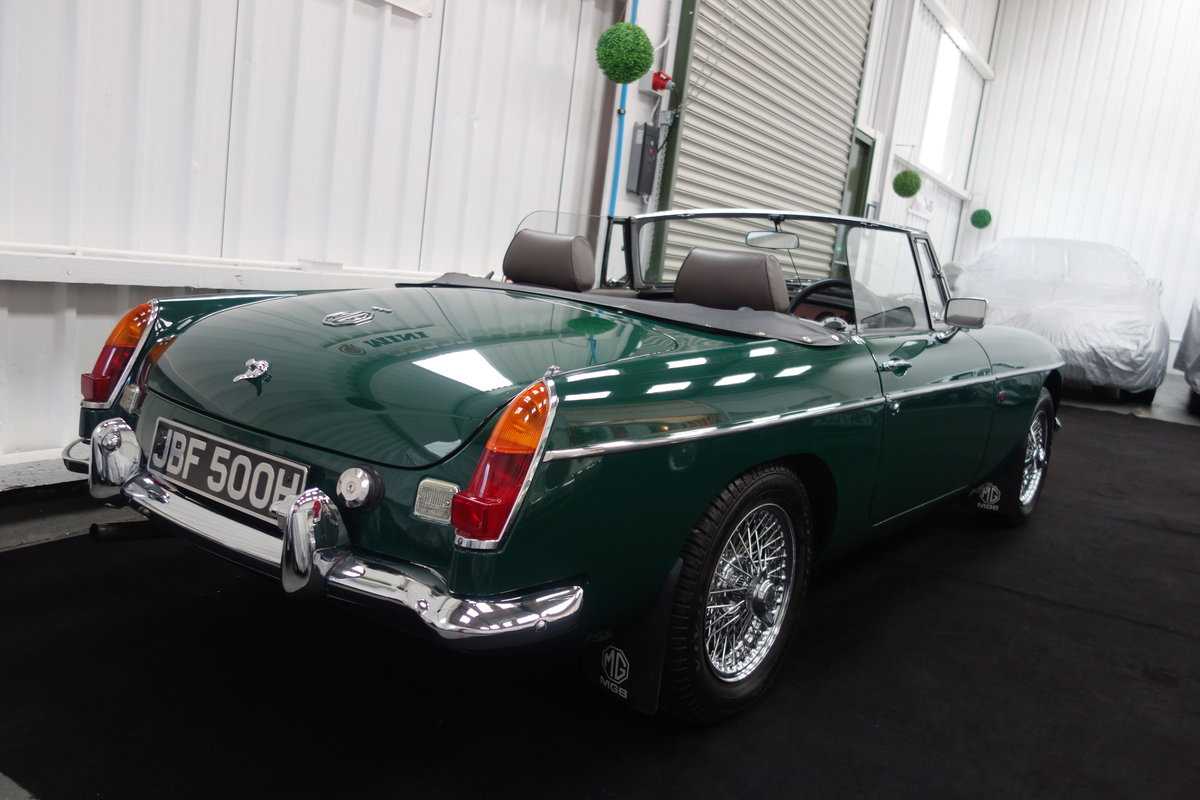 1970 MGB Roadster in beautiful condition SOLD (picture 4 of 6)
