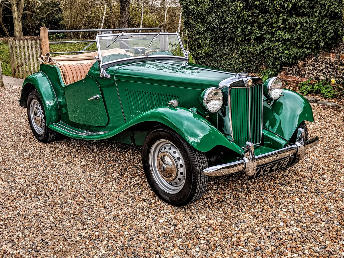 MG TD 1953 genuine 10,500 miles from new!! may PX For Sale (picture 1 of 6)