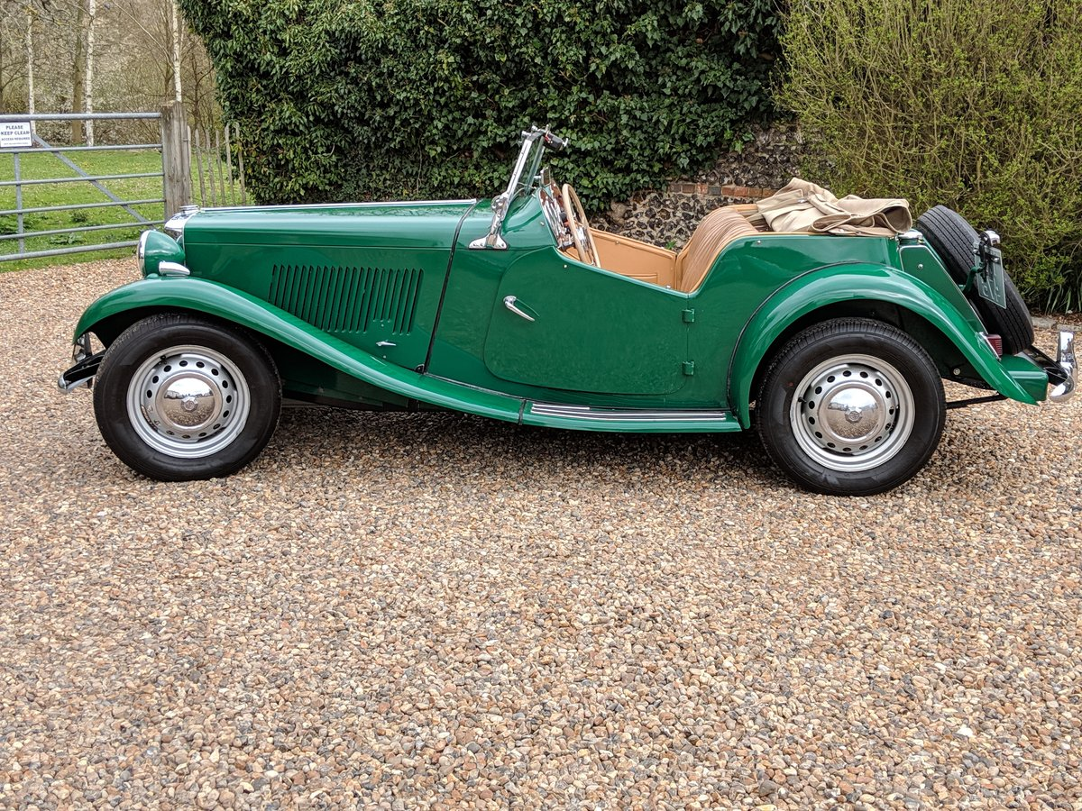 MG TD 1953 genuine 10,500 miles from new!! may PX For Sale (picture 2 of 6)