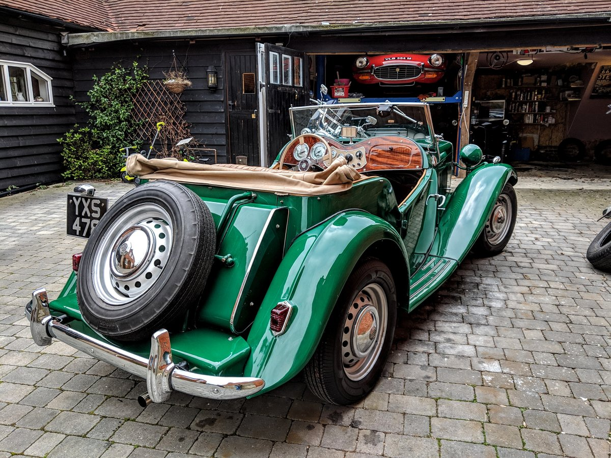 MG TD 1953 genuine 10,500 miles from new!! may PX For Sale (picture 4 of 6)