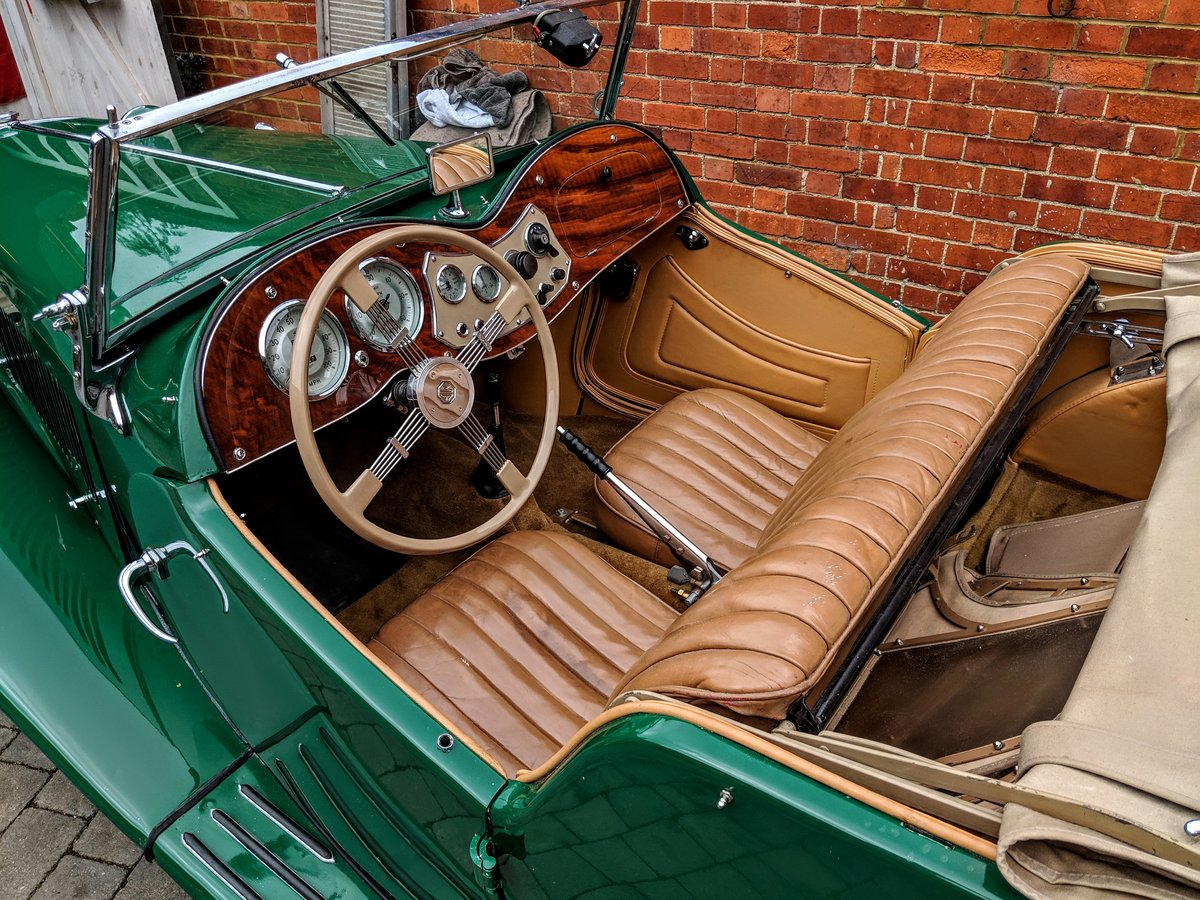 MG TD 1953 genuine 10,500 miles from new!! may PX For Sale (picture 5 of 6)
