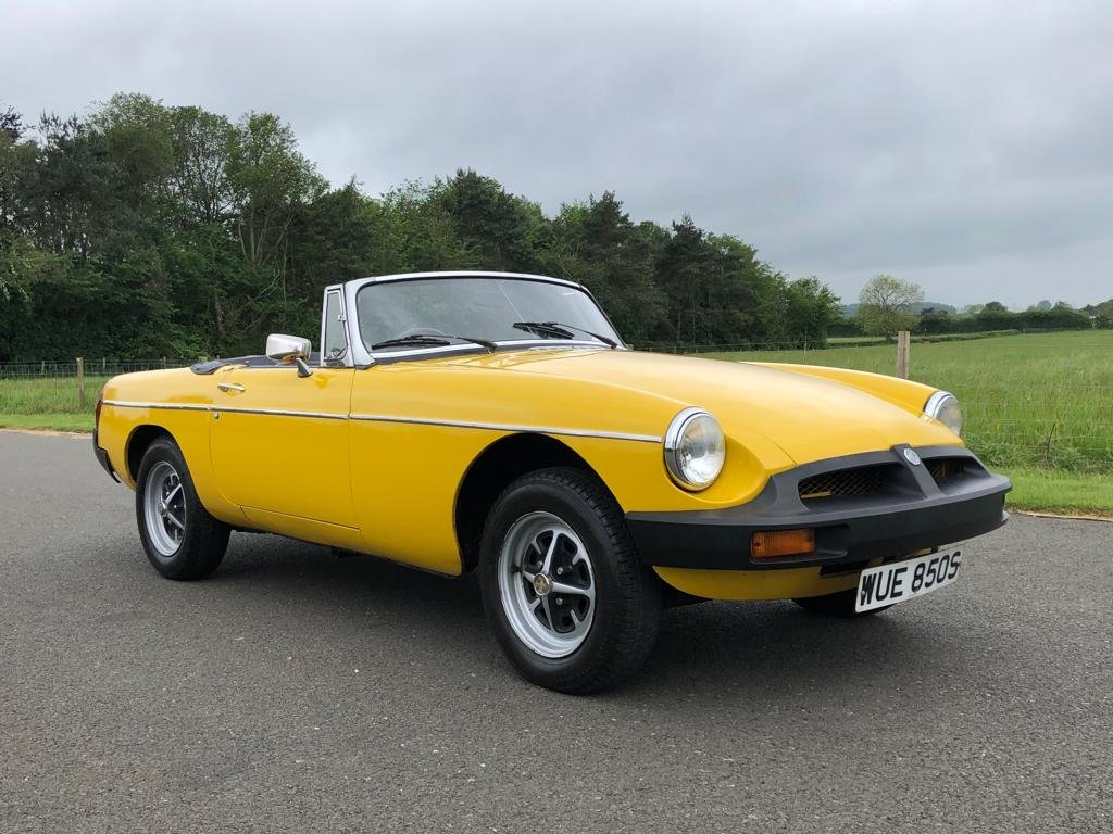 1978 MGB Roadster 1800cc SOLD (picture 1 of 6)