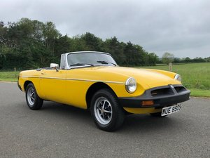 1978 MGB Roadster 1800cc SOLD