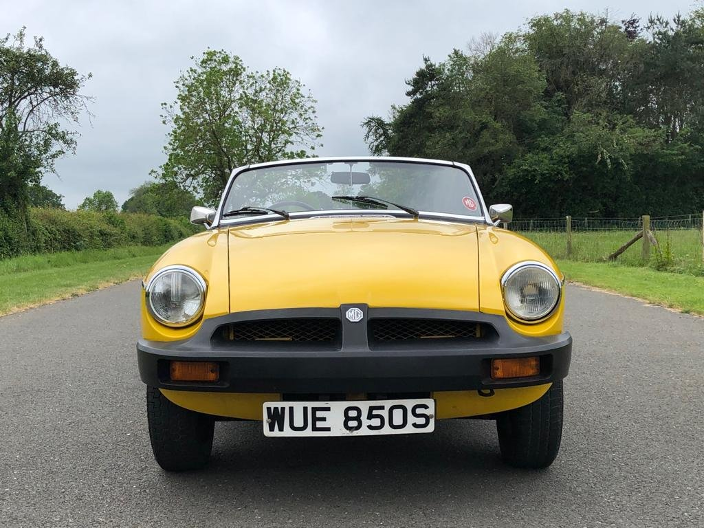 1978 MGB Roadster 1800cc SOLD (picture 2 of 6)