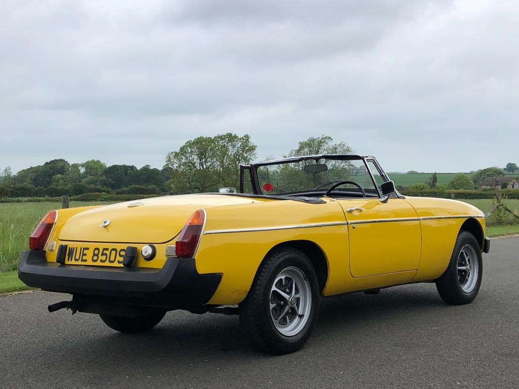 1978 MGB Roadster 1800cc SOLD (picture 4 of 6)