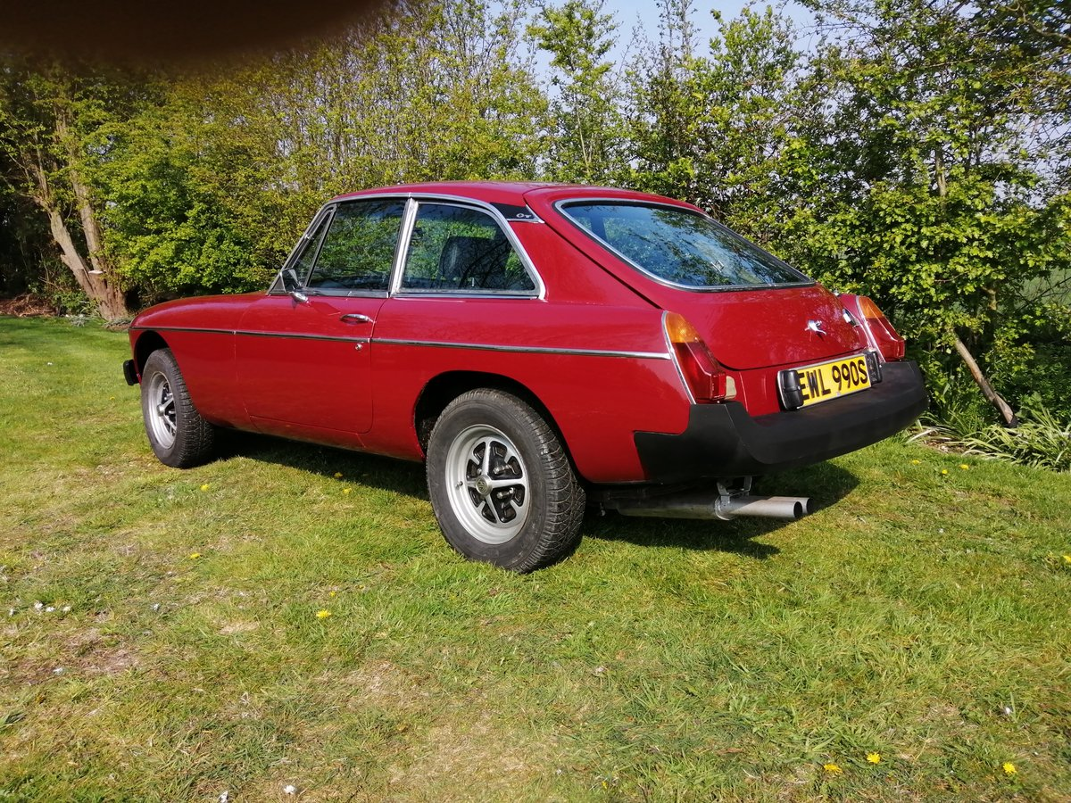 1978 MGB GT in CARMINE RED with OVERDRIVE For Sale (picture 6 of 6)
