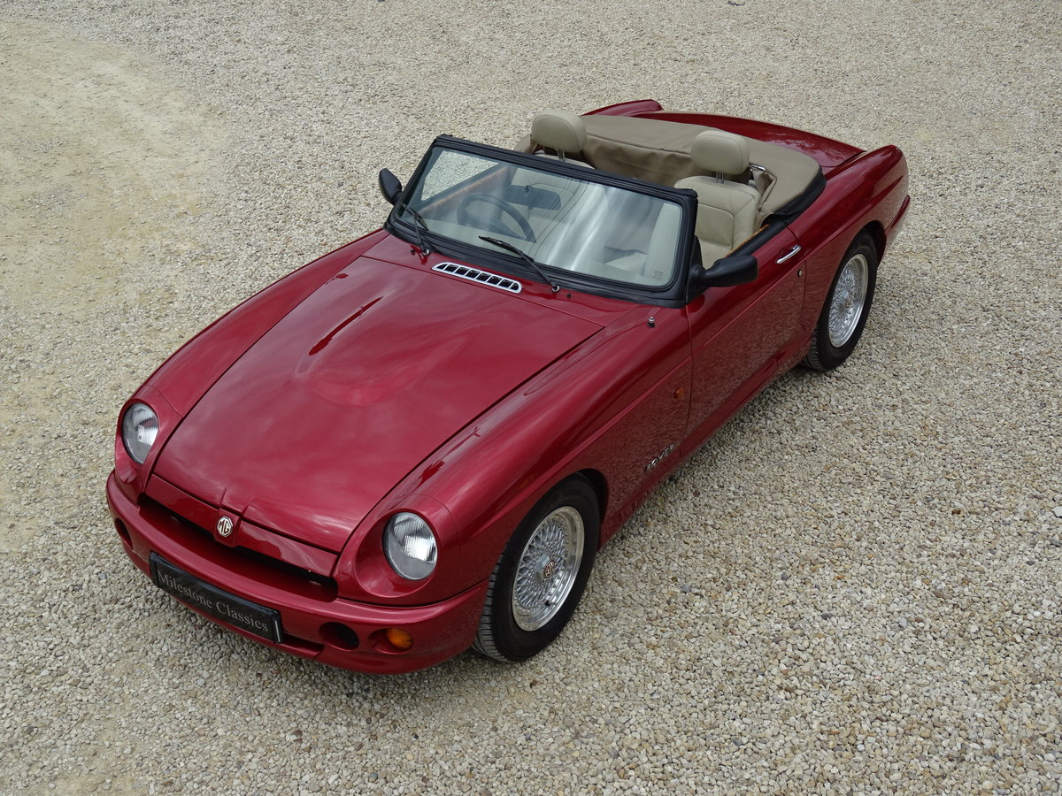MG RV8 – Rare Nightfire Red & Power Stering For Sale (picture 1 of 6)