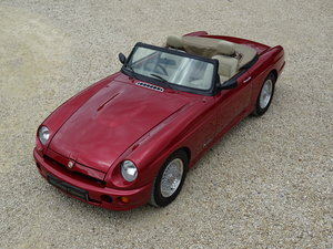 MG RV8 – Rare Nightfire Red & Power Stering For Sale