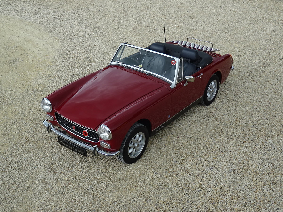 MG Midget MkIII – Enigma Reshell - Superb Press Car For Sale (picture 1 of 6)