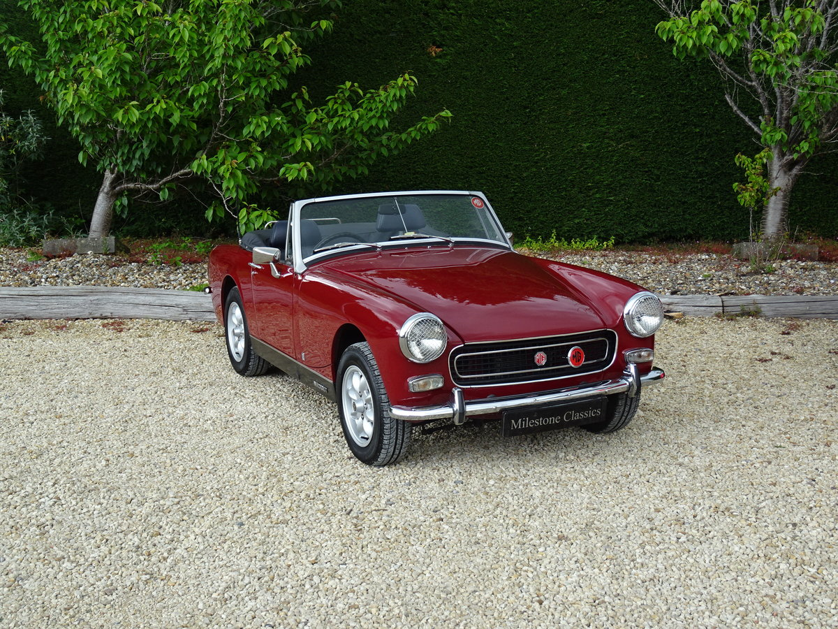 MG Midget MkIII – Enigma Reshell - Superb Press Car For Sale (picture 2 of 6)